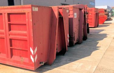 Servizio contenitori per rottami