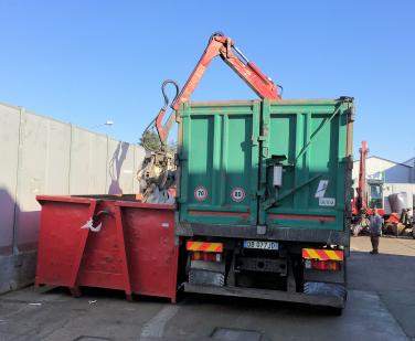Recupero e smaltimento rifiuti di imballaggi